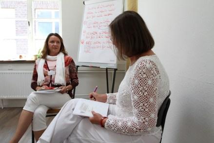 Work-Sitzung mit Sabine Bends
