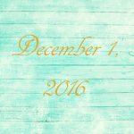 Astrology of Today – December 1, 2016