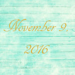 Astrology of Today – November 9, 2016