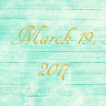 Astrology of Today – Sunday, March 19, 2017