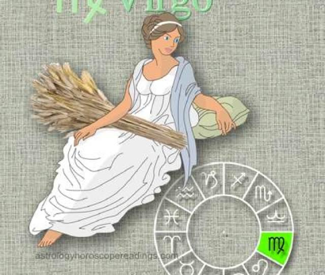 The Depiciton Of The Sun Sign Virgo The Virgin Image Copyright  Roman Oleh