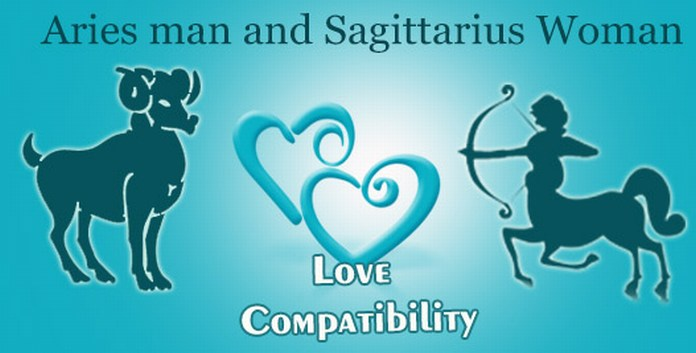 Aries man Sagittarius woman compatibility in love online