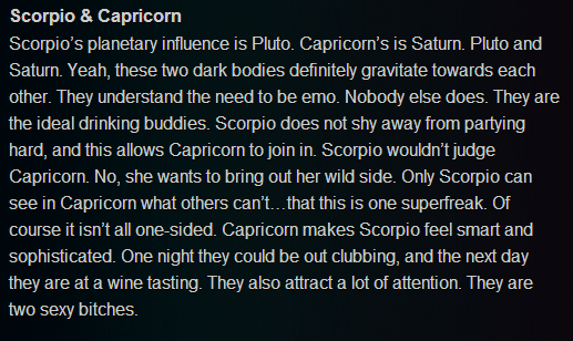 Capricorn man Scorpio woman compatibility in love
