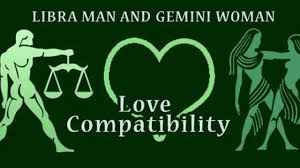 gemini man libra woman compatibility