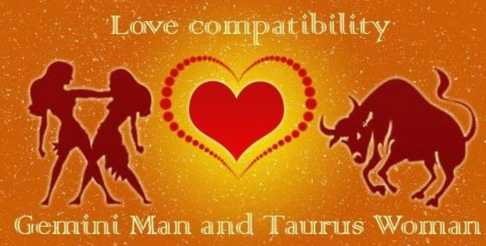 gemini man taurus woman love compatibility