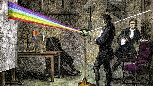Experimento de Newton con la lux