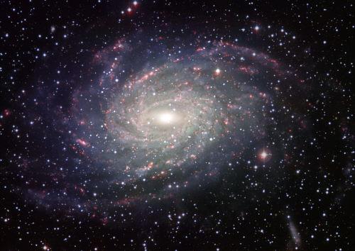 Dibujo de la Vía Láctea