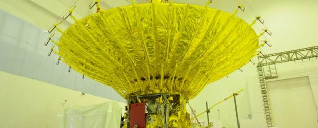 Lanciato con successo la scorsa settimana un nuovo radio telescopio russo. Esso è costituito da un riflettore sferico di circa 10 metri di diametro che nello scorso fine settimana è stato aperto con qualche problema iniziale. Il radio telescopio orb...