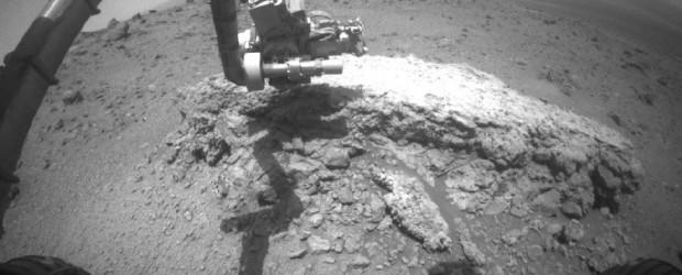 Il lavoro preliminare che il rover marziano della nasa Opportunity sta compiendo all'interno del cratere...