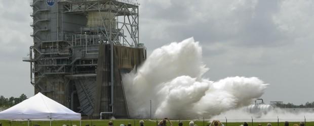 Mercoledì 9 novembre, presso lo Stennis Space Center, in Mississippi, è stato eseguito un test di accensione del propulsore di nuova generazione J-2X...
