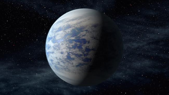 Ilustrasi planet Kepler-69c. Kredit: NASA