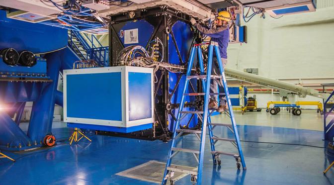 Primeras imágenes de la cámara más poderosa del mundo para la detección de exoplanetas