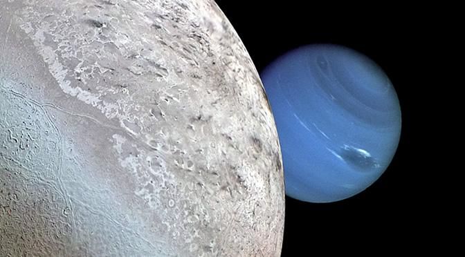 Se cumplen 25 años del histórico sobrevuelo de Neptuno por la sonda Voyager 2
