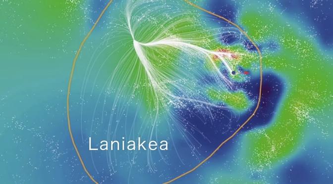 Cielo inconmensurable: crean el primer mapa del supercúmulo Laniakea, nuestro lugar en el Universo