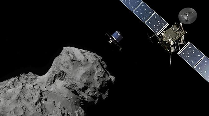 En vivo: El módulo Philae de la misión Rosetta intenta aterrizar en el cometa 67P