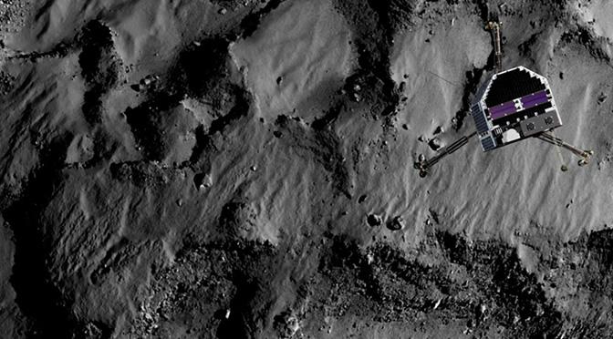 Philae: 64 horas intensas de ciencia en la superficie del cometa Churyumov-Gerasimenko