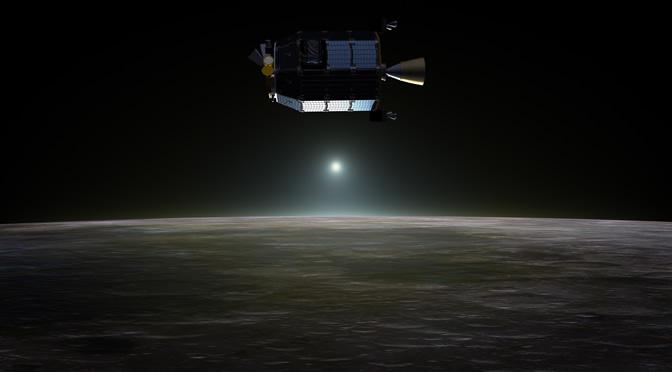 La sonda LADEE descubre una nube asimétrica de polvo que rodea la Luna