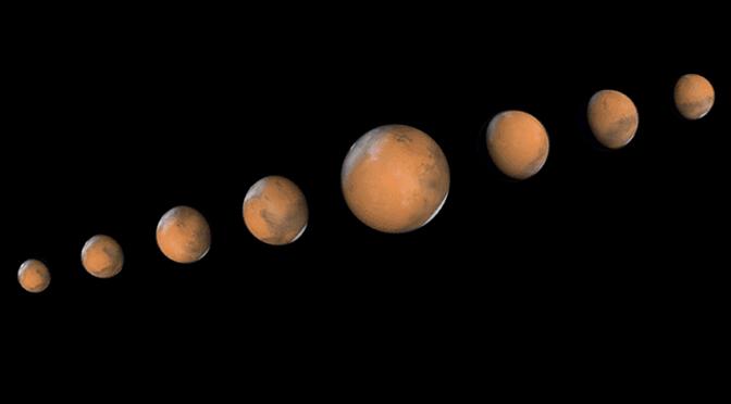 La oposición de Marte del 22 de mayo de 2016