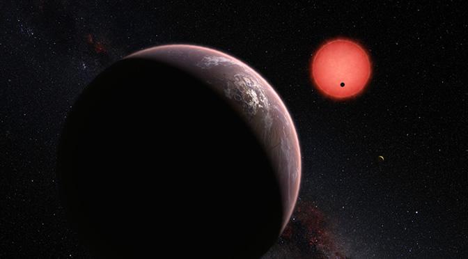 Descubren tres planetas potencialmente habitables en torno a estrella cercana