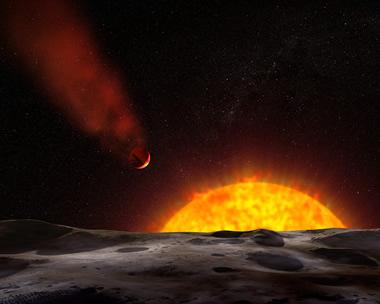 Eriyen bir gezegen...