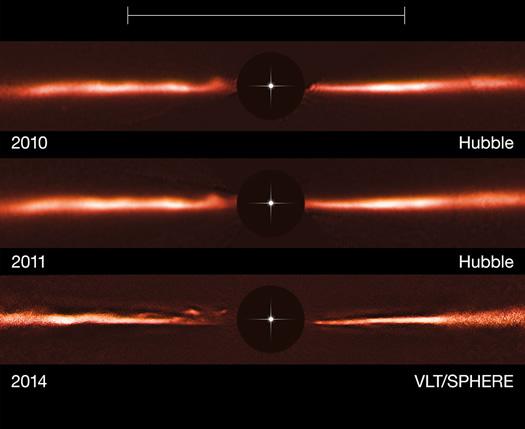 AU Microscopii yildiz olusum diski