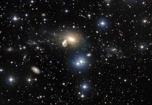 VLT İlginç Kozmik Çarpışmayı Yeniden Görüntüledi