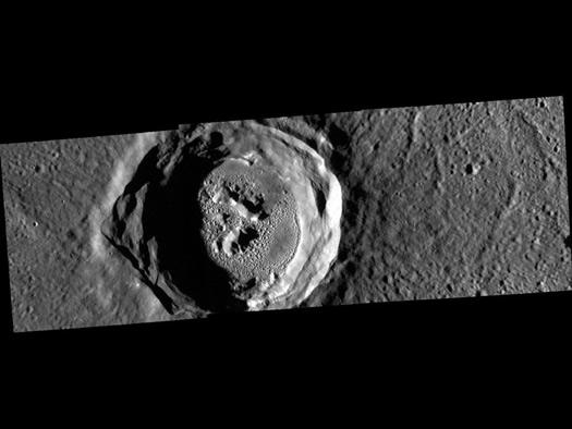 Merkür'de dev göz! (NASA/Johns Hopkins University Applied Physics Laboratory/Carnegie Institution of Washington)