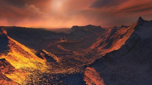 Barnard Yıldızının Süper Dünyası
