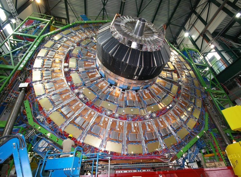 Construction of CMS at CERN, Point 5, Cessy