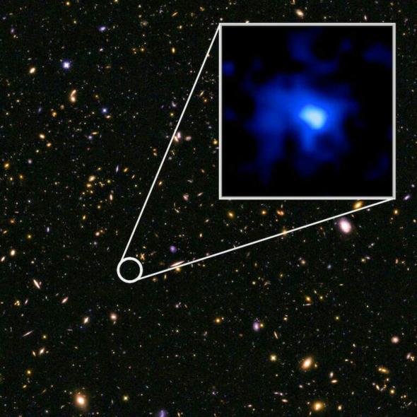 ancient galaxy