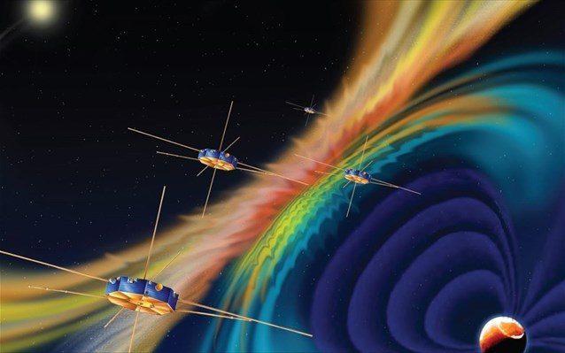 Η μαγνητική επανασύνδεση οφείλεται στην τοπική συσσώρευση ενέργειας σε μαγνητικά πεδία, η οποία απελευθερώνονται απότομα με «μαγνητικές εκρήξεις», δηλαδή με την επιτάχυνση φορτισμένων σωματιδίων σε ταχύτητες κοντά στην ταχύτητα του φωτός.