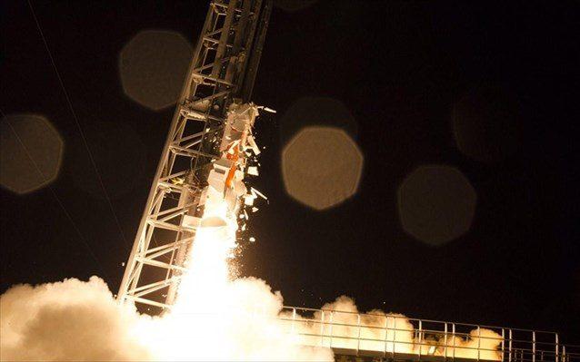 Η εκτόξευση του πυραύλου ICI4.