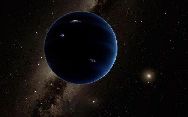 Καλλιτεχνική απεικόνιση του «ένατου πλανήτη».