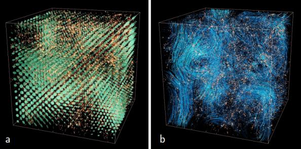 Για πρώτη φορά ένα πρόγραμμα προσομοίωσης της εξέλιξης του σύμπαντος χρησιμοποιεί στους υπολογισμούς του εξισώσεις από τη γενική θεωρία της σχετικότητας του Αϊνστάιν κι όχι την Νευτώνεια θεωρία της βαρύτητας.