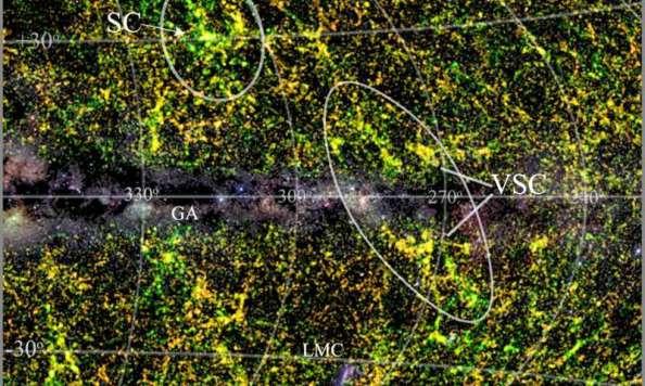 To υπερσμήνος Vela (VLC) και το ευρύτερο περιβάλλον του.