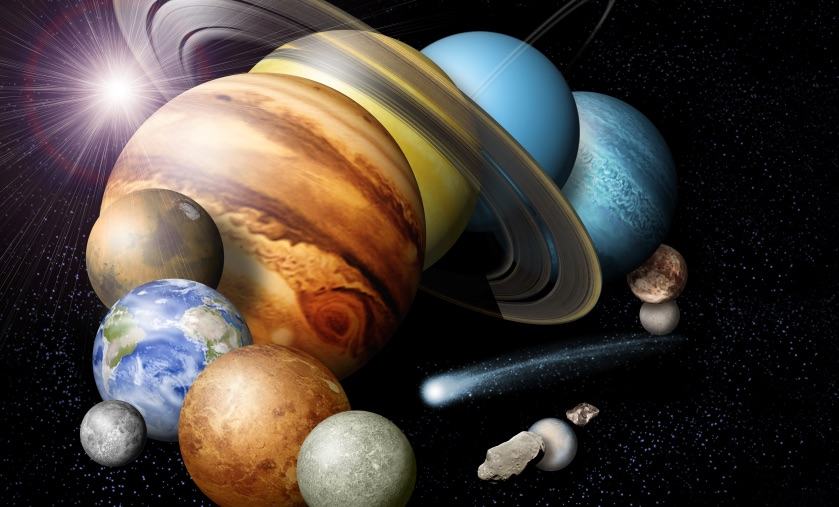 our solar system s