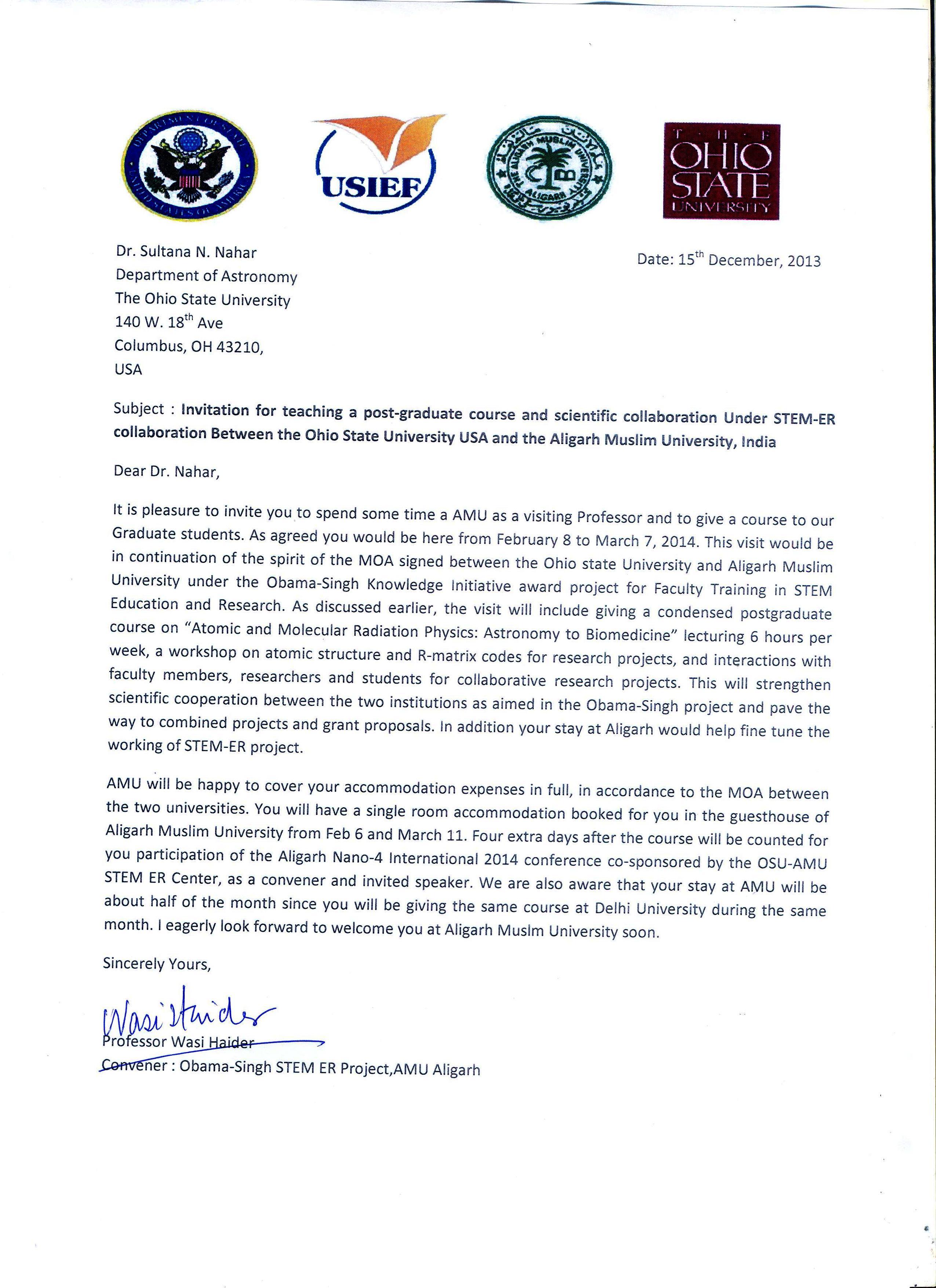 Research Collaboration Invitation Letter  Invitationsjdiorg