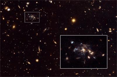 """Spiderweb Galaxy"": a galaxy in the making"