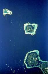 the greenery of the Tahaa Islands
