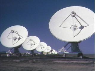ground view of VLA
