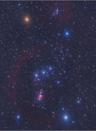 Orion Constellation Stars