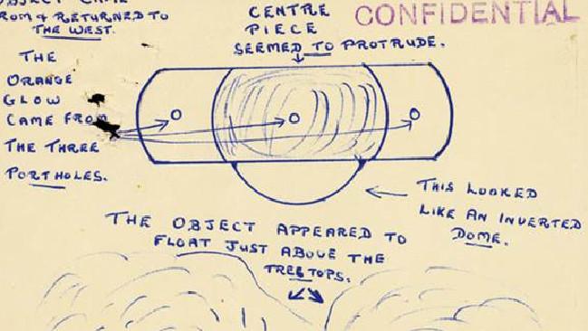 CIA Declassified Files Include UFO Sightings