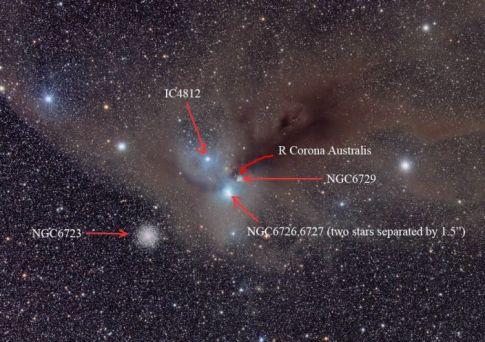 Corona Australis Molecular Cloud