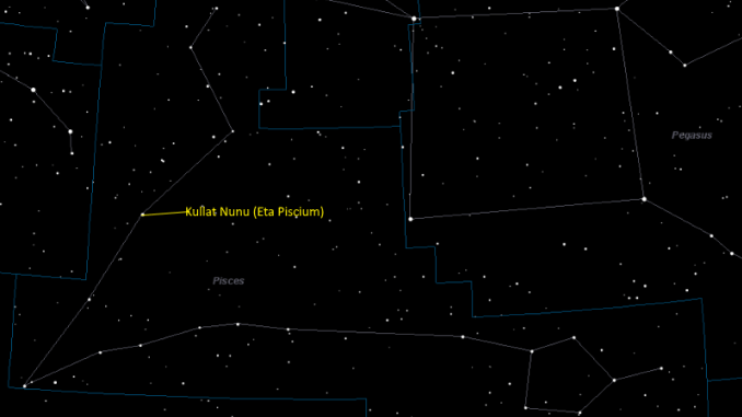 Star Facts: Eta Piscium