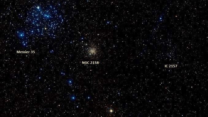 Deep-Sky Objects in Gemini