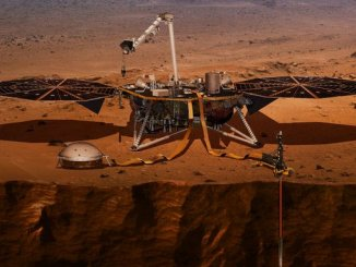 InSight Spacecraft on Mars