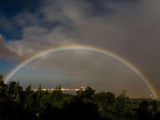 Examining the Phenomenon of Lunar Rainbows