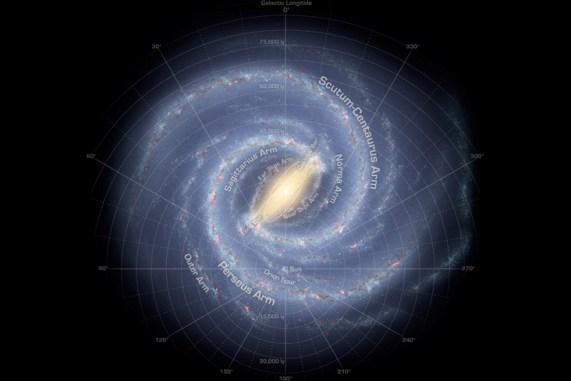 New Study Doubles the Milky Way's Diameter