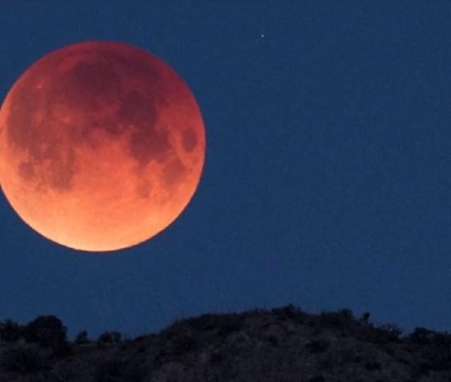 Brasileiros De Algumas Regioes Do Pais Poderao Ver O Eclipse Lunar Total De 27 De Julho