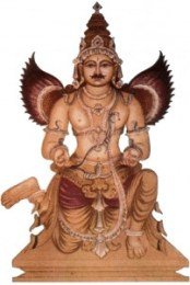 Garuda- the eagle beaked Vahana of Lord Vishnu